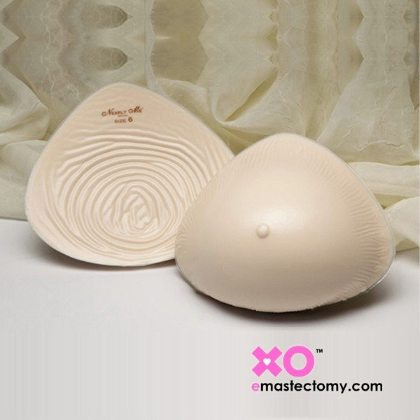Nearly Me Extra Lightweight Semi-Full Triangle Breast Form 395
