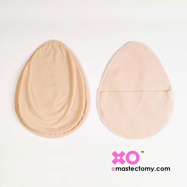 Fabric Cover for Teardrop Shape Breast Forms