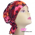 Jean Chemo Beanie Red Floral Print
