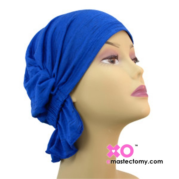 Ronda Chemo Beanie Royal Blue Jersey