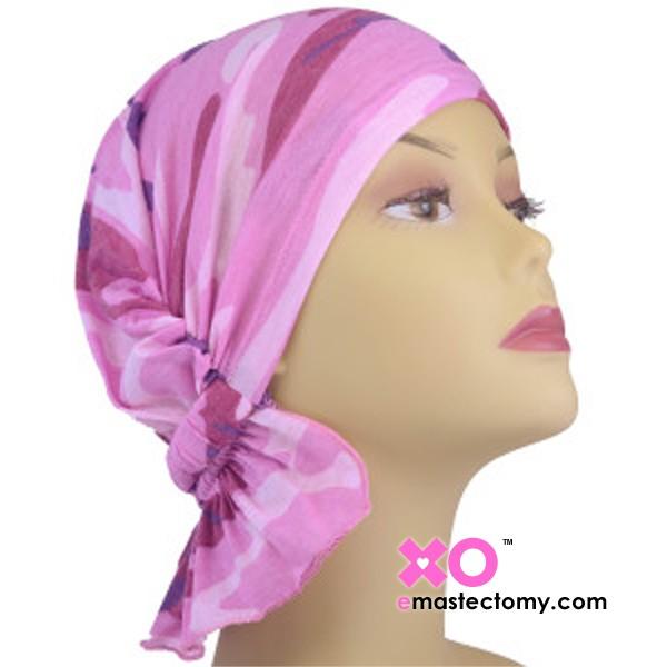 Tammy Chemo Beanie Pink Camo
