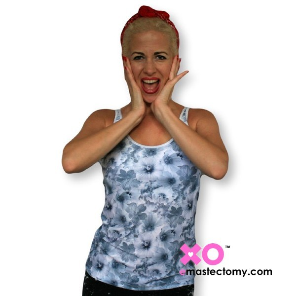 65d0a97c9fd Mastectomy Tank Top With Built In Pocketed Bra and Sewn-In Foam Cups ...